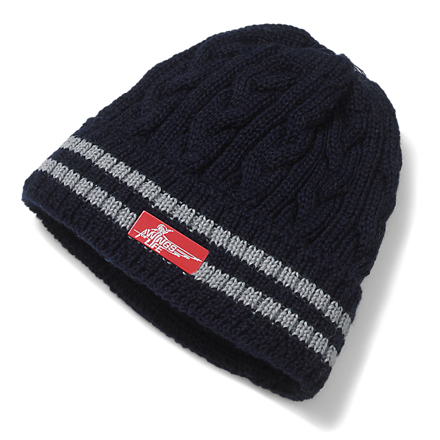 Cable Knit Beanie (WFL15009): Wings for Life World Run cable-knit-beanie (image/jpeg)