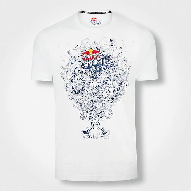 Doodle Art T-Shirt (GEN17014): Red Bull Doodle Art doodle-art-t-shirt (image/jpeg)