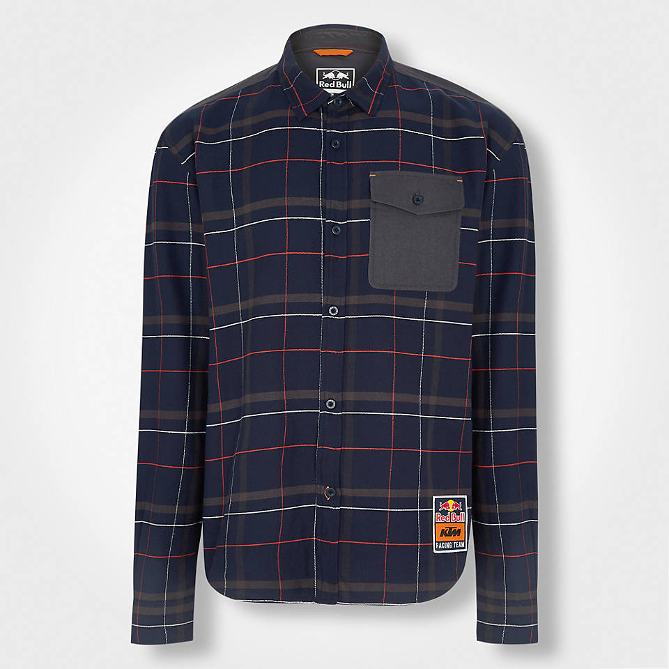 Red Bull KTM Check Shirt (KTM18015): Red Bull KTM Factory Racing red-bull-ktm-check-shirt (image/jpeg)