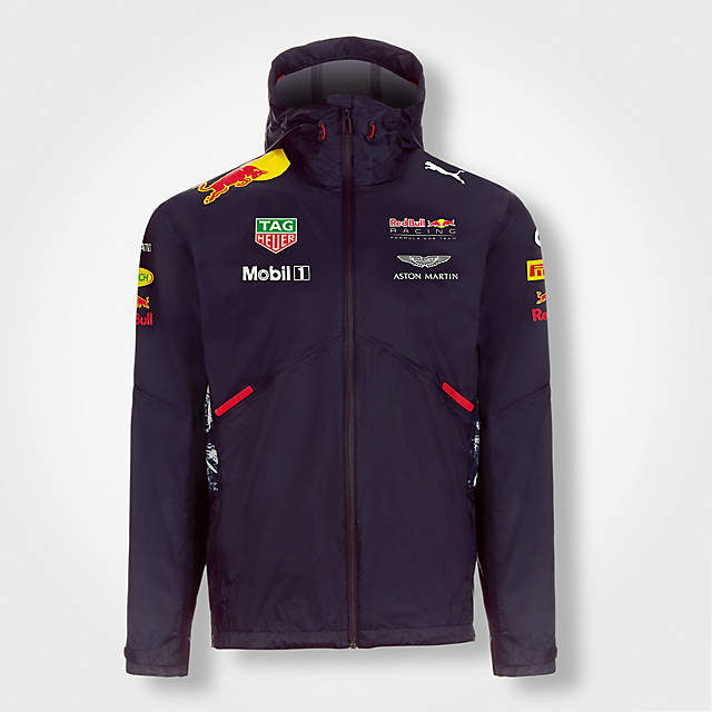 Official Teamline Rainjacket (RBR17054): Red Bull Racing official-teamline-rainjacket (image/jpeg)