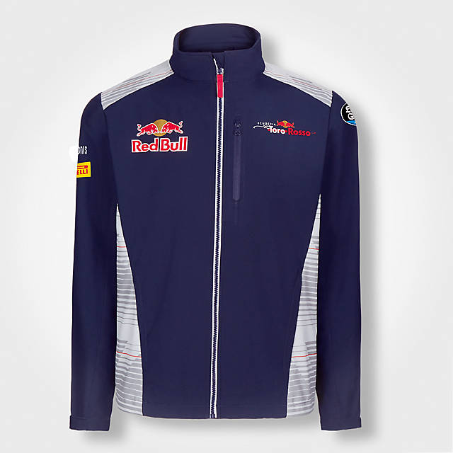 Official Teamline Softshell Jacket (STR17004): Scuderia Toro Rosso official-teamline-softshell-jacket (image/jpeg)