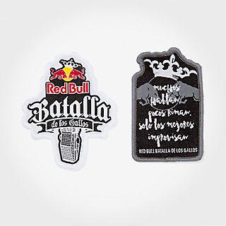 Batalla Aufnäher Set (BDG18013): Red Bull Batalla De Los Gallos batalla-aufnaeher-set (image/jpeg)
