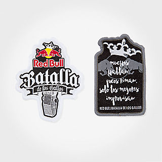 Batalla Patch Set (BDG18013): Red Bull Batalla De Los Gallos batalla-patch-set (image/jpeg)