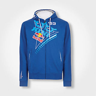 Ribbon Zip Hoody (KIN16083): Kini Red Bull Collection ribbon-zip-hoody (image/jpeg)