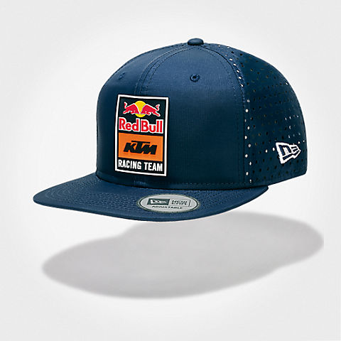 New Era 9FIFTY KTM Perforated Flatcap (KTM18033): Red Bull KTM Factory Racing new-era-9fifty-ktm-perforated-flatcap (image/jpeg)