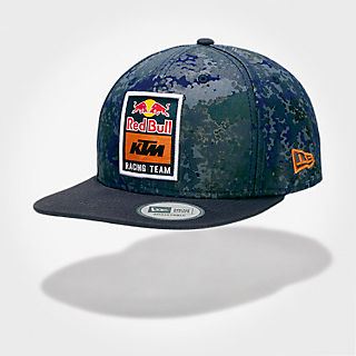 New Era 9FIFTY KTM Camo Flatcap (KTM18037): Red Bull KTM Factory Racing new-era-9fifty-ktm-camo-flatcap (image/jpeg)