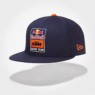 New Era 9Fifty Snapback Flat Cap (KTM19037)  Red Bull KTM Factory Racing new 37570abfad