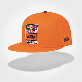 New Era 9Fifty Snapback Flat Cap (KTM19038)  Red Bull KTM Factory Racing new 32045336efd7