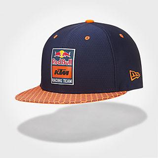 New Era 9Fifty Hex Era Flat Cap (KTM19043)  Red Bull KTM Factory Racing 3eddda9a9ee6