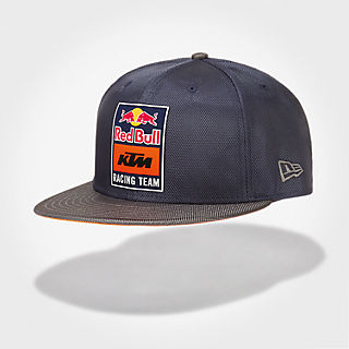 New Era 9Fifty Nylon Flat Cap (KTM19044): Red Bull KTM Factory Racing new-era-9fifty-nylon-flat-cap (image/jpeg)