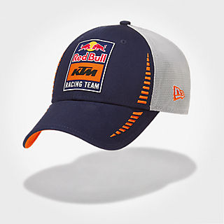 03d7814e4b6 New Era 9Forty Trucker Cap (KTM19045)  Red Bull KTM Factory Racing new-