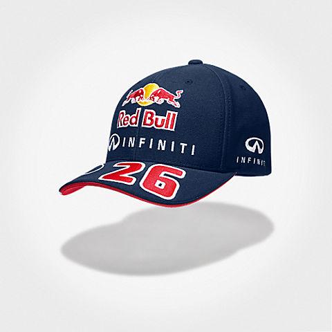 Daniil Kvyat Driver Cap (RBR15027): Infiniti Red Bull Racing daniil-kvyat-driver-cap (image/jpeg)