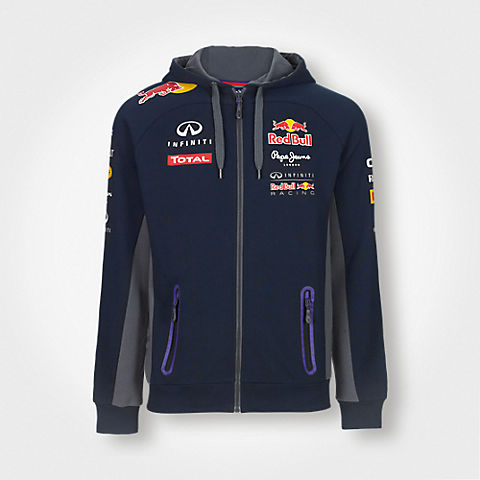 Official Teamline Zip Hoody (RBR15036): Red Bull Racing official-teamline-zip-hoody (image/jpeg)