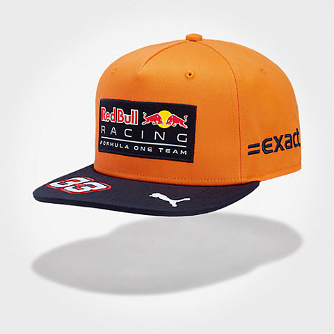 Max Verstappen Orange Flatcap (RBR17099): Red Bull Racing max-verstappen-orange-flatcap (image/jpeg)