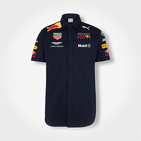 Official Teamline Team Shirt (RBR18004): Red Bull Racing official-teamline-team-shirt (image/jpeg)