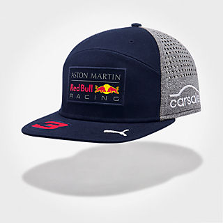Daniel Ricciardo Driver Flatcap (RBR18018): Red Bull Racing daniel-ricciardo-driver-flatcap (image/jpeg)