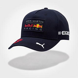 Max Verstappen Driver Cap (RBR18180): Red Bull Racing max-verstappen-driver-cap (image/jpeg)