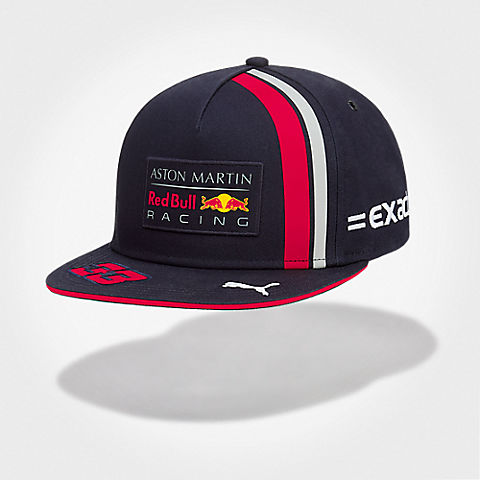 01ae1e6ada7 Max Verstappen Driver Flat Cap (RBR19017)  Red Bull Racing max-verstappen-