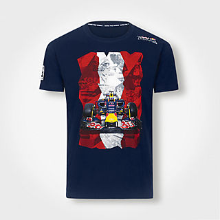 Austrian Flag T-Shirt (RRI15011): Red Bull Ring - Project Spielberg austrian-flag-t-shirt (image/jpeg)