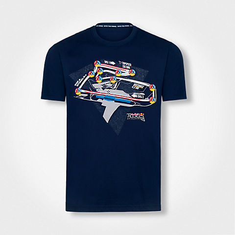 Telemetry T-Shirt (RRI17009): Red Bull Ring – Projekt Spielberg telemetry-t-shirt (image/jpeg)