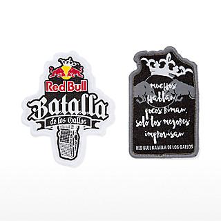 Batalla Aufnäher Set (BDG18013): Red Bull Batalla De Los Gallos batalla-aufn-her-set (image/jpeg)
