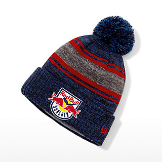 New Era Applique Pompom Beanie (ECM19025): EHC Red Bull München new-era-applique-pompom-beanie (image/jpeg)