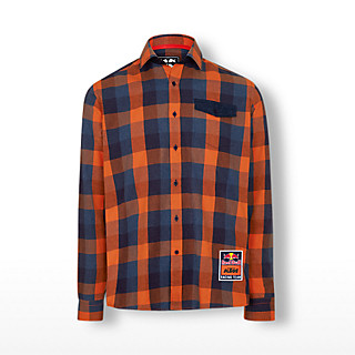 Checked Flannel Shirt (KTM19006): Red Bull KTM Factory Racing checked-flannel-shirt (image/jpeg)