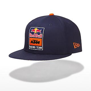 New Era 9Fifty Snapback Flat Cap (KTM19037): Red Bull KTM Factory Racing new-era-9fifty-snapback-flat-cap (image/jpeg)