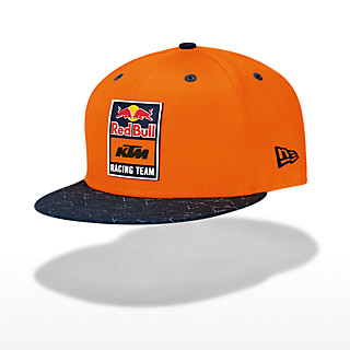 New Era 9FIFTY Patch Flat Cap (KTM20038): Red Bull KTM Racing Team new-era-9fifty-patch-flat-cap (image/jpeg)