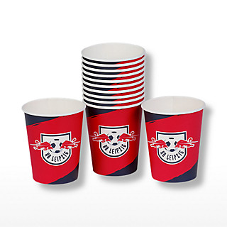 party cups set of 10 (RBL19212): RB Leipzig party-cups-set-of-10 (image/jpeg)