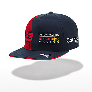 Max Verstappen Driver Flat Cap (RBR20019): Red Bull Racing max-verstappen-driver-flat-cap (image/jpeg)