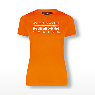Womens Orange Logo Tee (RBR20121): Red Bull Racing womens-orange-logo-tee (image/jpeg)