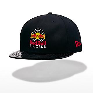 d1b13998c1e New Era 9Fifty Vinyl Flat Cap (REC19010): Red Bull Records new-era