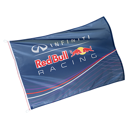 Logo Flag (RBR13202): Infiniti Red Bull Racing logo-flag (image/jpeg)